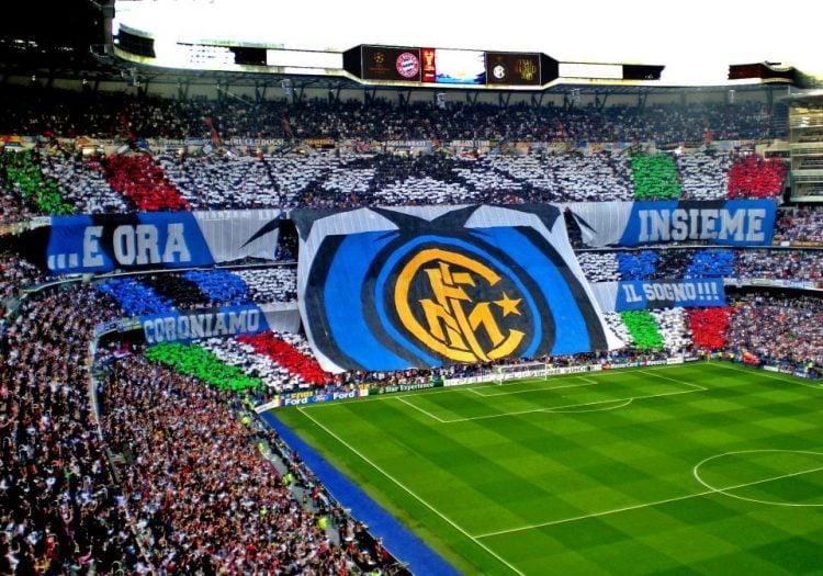 A Inter de Milão tem uma das maiores torcidas da Itália