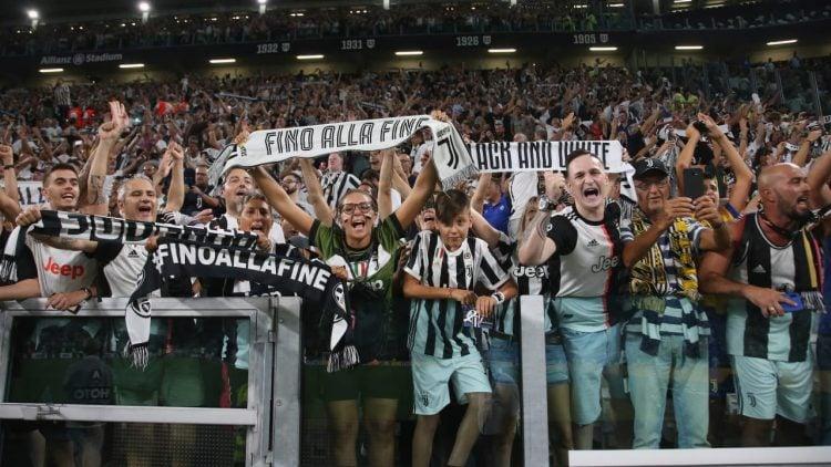 A Juventus tem a maior torcida da Itália