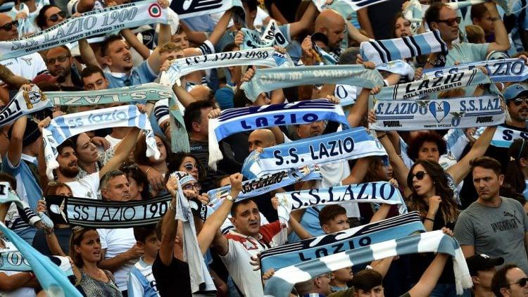 A Lazio tem uma das maiores torcidas da Itália