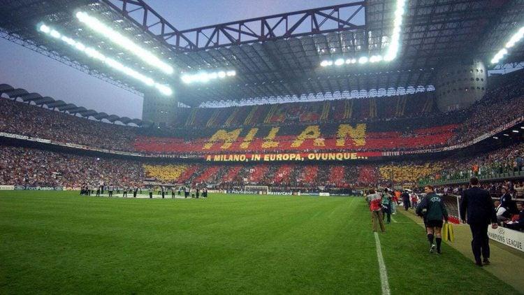 Milan tem uma das maiores torcidas da Itála