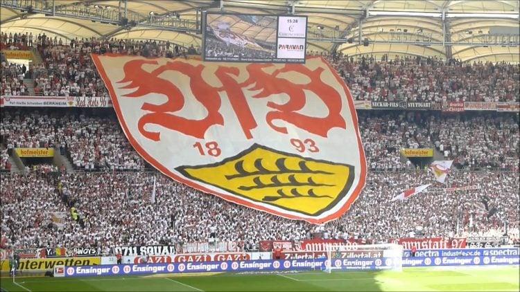 O Stuttgart tem uma das maiores torcidas da Alemanha