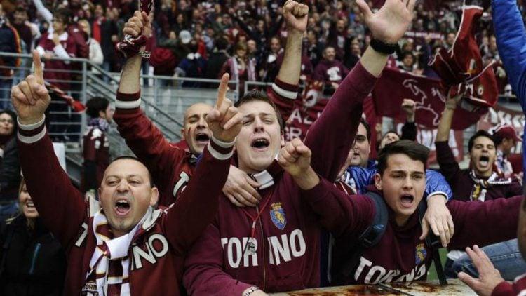 A Torino tem uma das maiores torcidas da Itália
