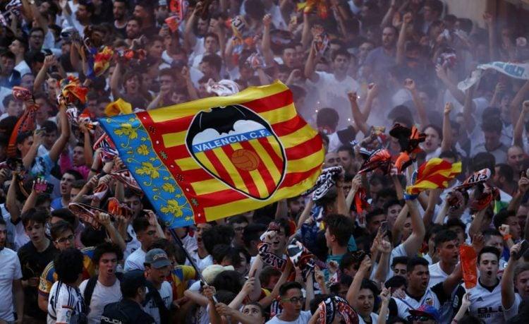 O Valencia tem uma das maiores torcidas da Espanha